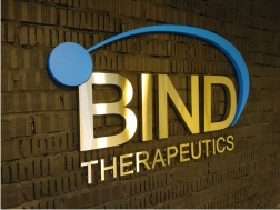 Интерьерная вывеска Bind Therapeutics