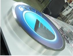 Логотип из нержавеющей стали