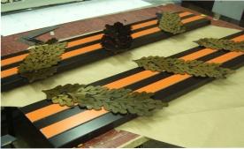 Декоративные металлические элементы оформления стелы