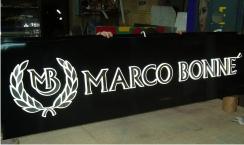 Фасадная вывеска Marco Bonne