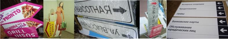 указатели, системы навигации